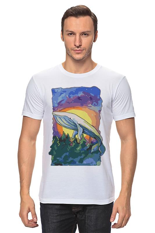 Футболка классическая Printio Волшебный кит футболка wearcraft premium printio волшебный кит