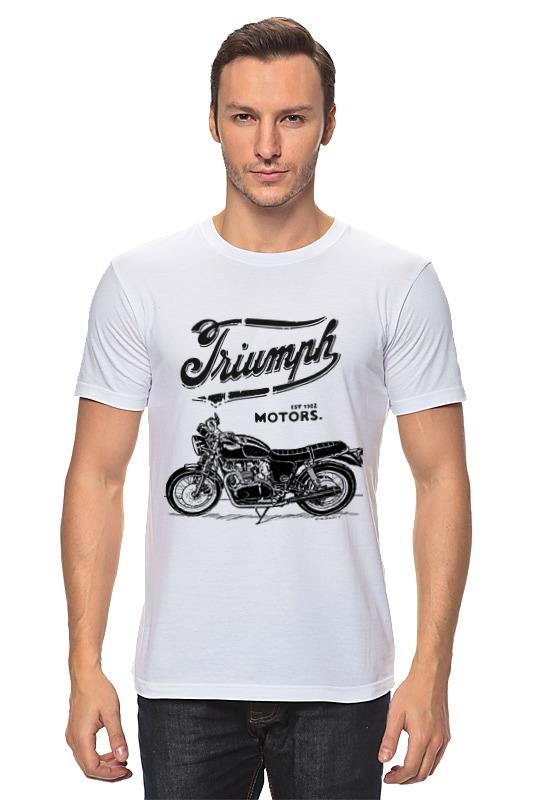Футболка классическая Printio Triumph motorcycles футболка классическая printio triumph motorcycles