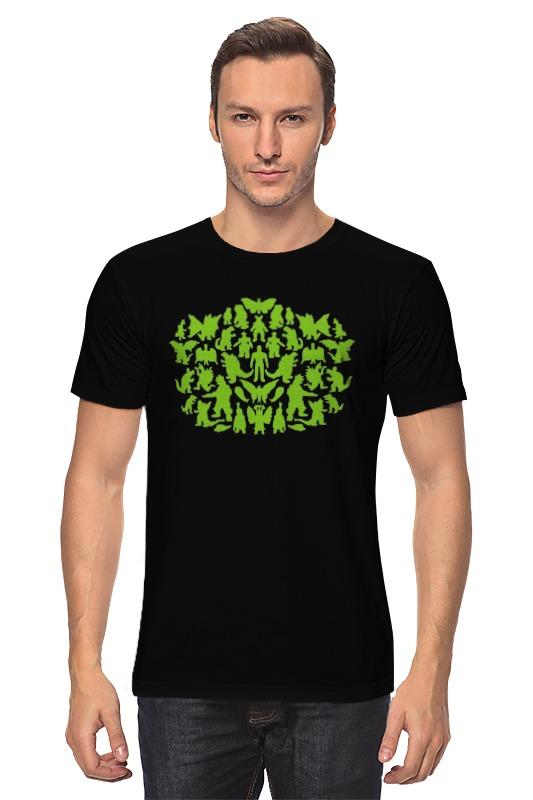 Футболка классическая Printio Шелдон купер - зеленые монстры детская футболка классическая унисекс printio шелдон купер зеленые монстры