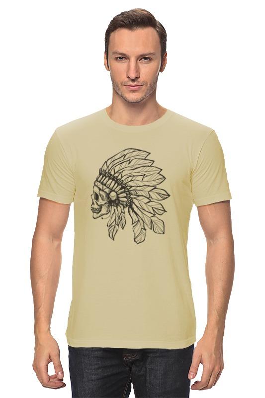 Футболка классическая Printio Череп индейца футболка print bar череп