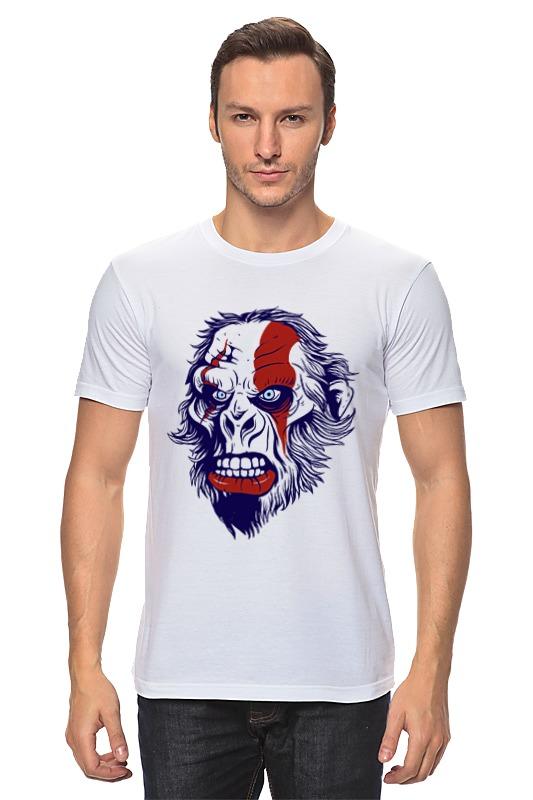 Футболка классическая Printio Gorilla kratos цена