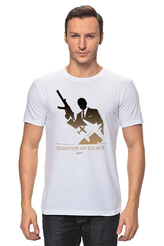 стеллаж квант 3 Футболка классическая Printio 007: квант милосердия