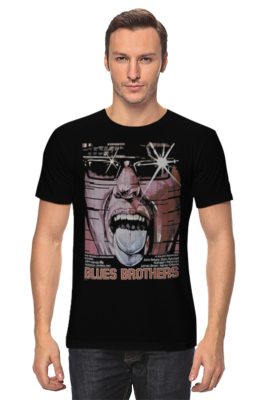 Футболка классическая Printio The blues brothers goorin brothers 103 5880