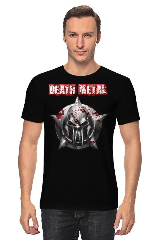 Футболка классическая Printio Death metal майка классическая printio rainbow death metal