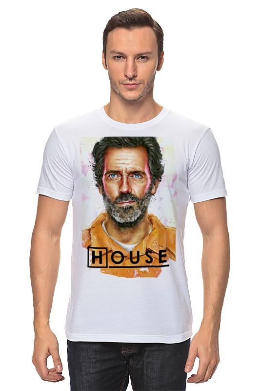 Футболка классическая Printio Доктор хаус / house, m. d. футболка классическая printio доктор хаус house