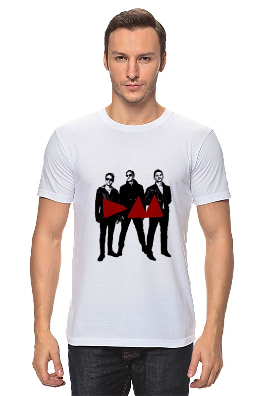 Фото - Футболка классическая Printio Depeche mode - band stand детская футболка классическая унисекс printio depeche mode band stand