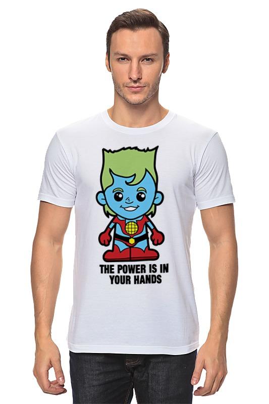 Printio Капитан планета футболка рингер printio капитан планета