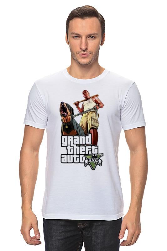 Футболка классическая Printio Gta 5 dog & man футболка классическая printio gta 5 poster