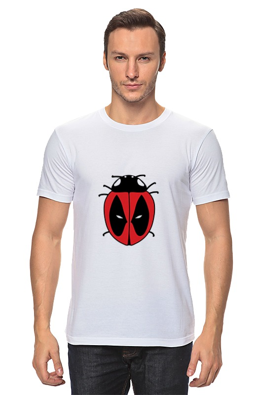Футболка классическая Printio Дэдпул ( deadpool ) футболка классическая printio deadpool content