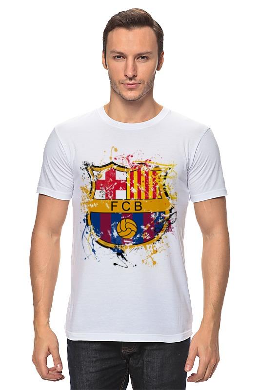 Футболка классическая Printio Барселона чартер для всех