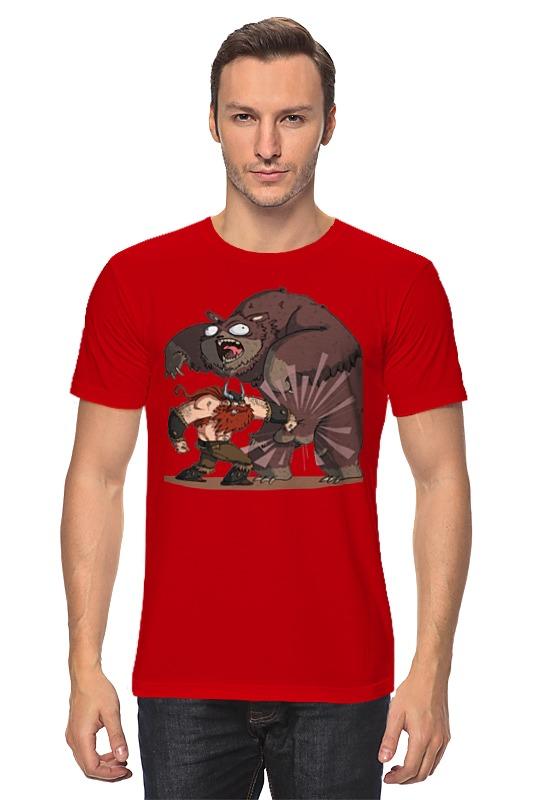 Футболка классическая Printio Викинг и медведь футболка классическая printio викинг