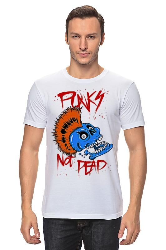 Футболка классическая Printio Punks not dead original monstr high love s not dead ghoulia yelps