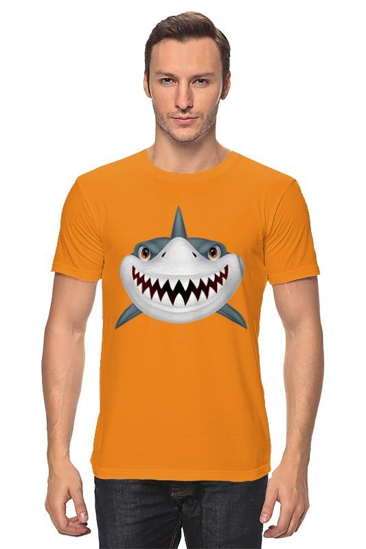 Футболка классическая Printio Акула футболка рингер printio акула