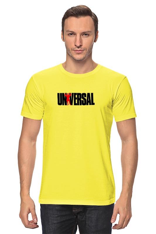все цены на Футболка классическая Printio Universal nutrition онлайн
