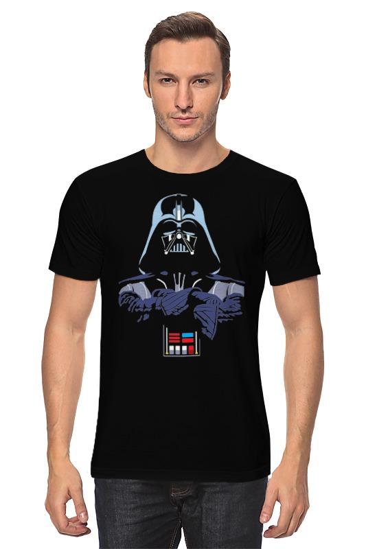 Футболка классическая Printio Darth vader (star wars) (2) футболка классическая printio 62 2% в саратове
