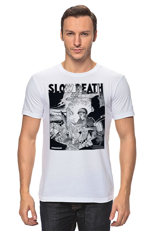 Футболка классическая Printio Slow death t-shirt лонгслив printio slow death t shirt