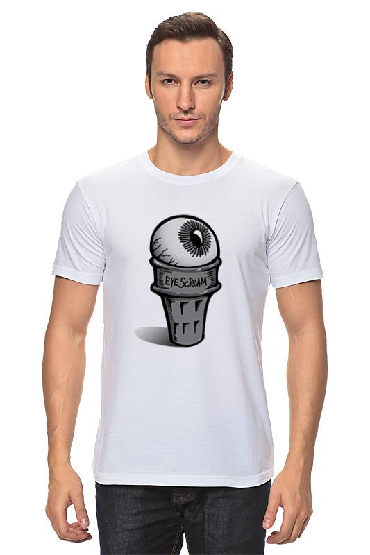 все цены на Футболка классическая Printio Eye scream онлайн