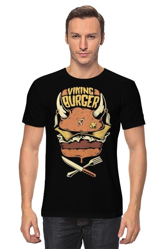 Printio Викинг бургер футболка классическая printio викинг