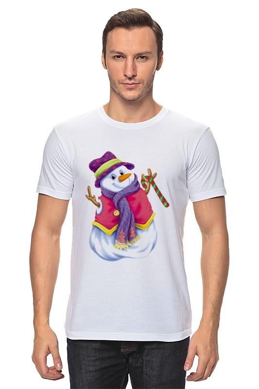 Printio Снеговик футболка классическая printio снеговик