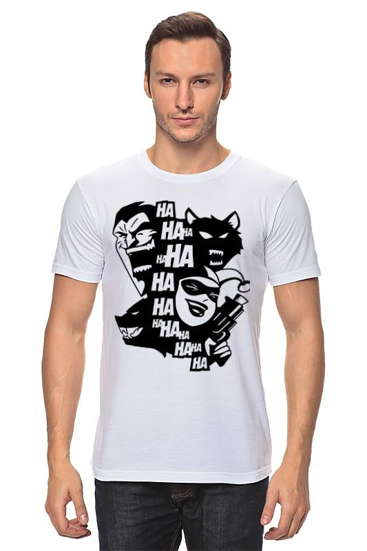 Футболка классическая Printio Джокер и харли квинн (бэтмен) футболка print bar бэтмен и джокер