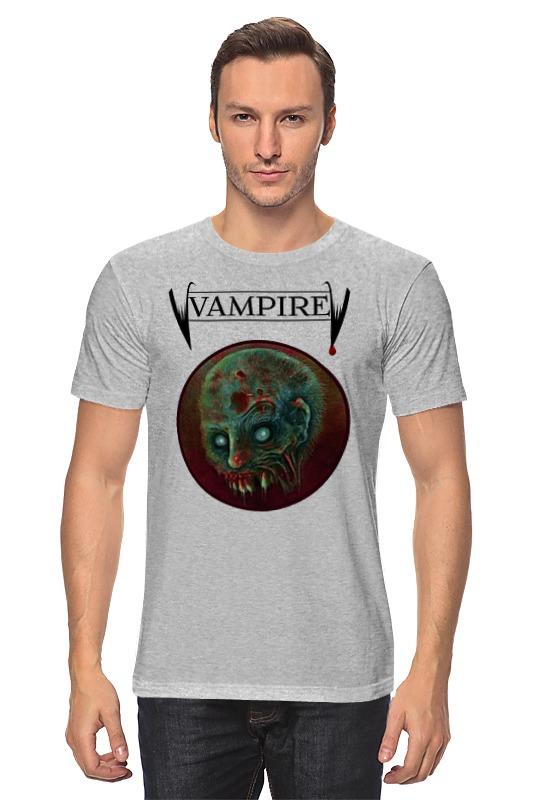 Футболка классическая Printio Вампир маска чулок вампир uni