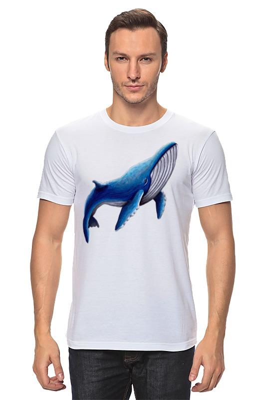 Футболка классическая Printio Синий кит футболка классическая printio кит ричардс