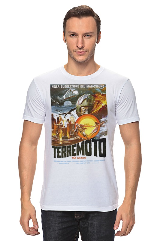 Футболка классическая Printio Terremoto лонгслив printio terremoto
