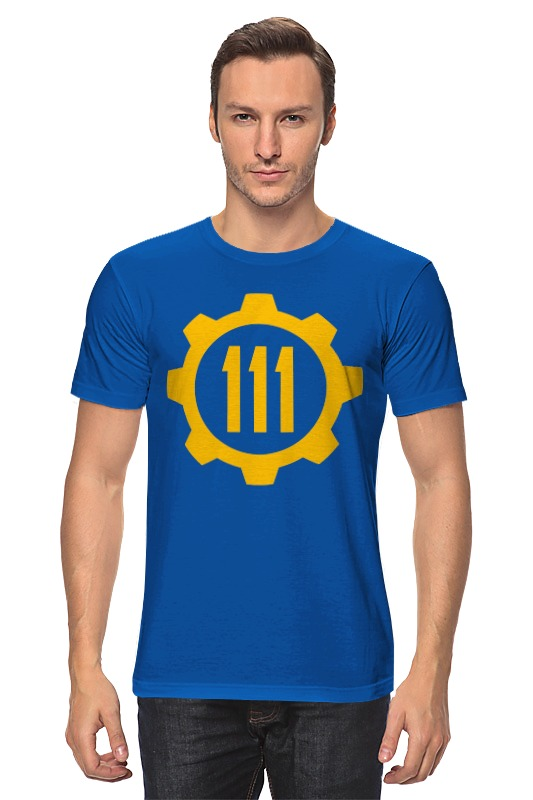 Футболка классическая Printio Убежище 111 (fallout 4) футболка jockey 854045h 111