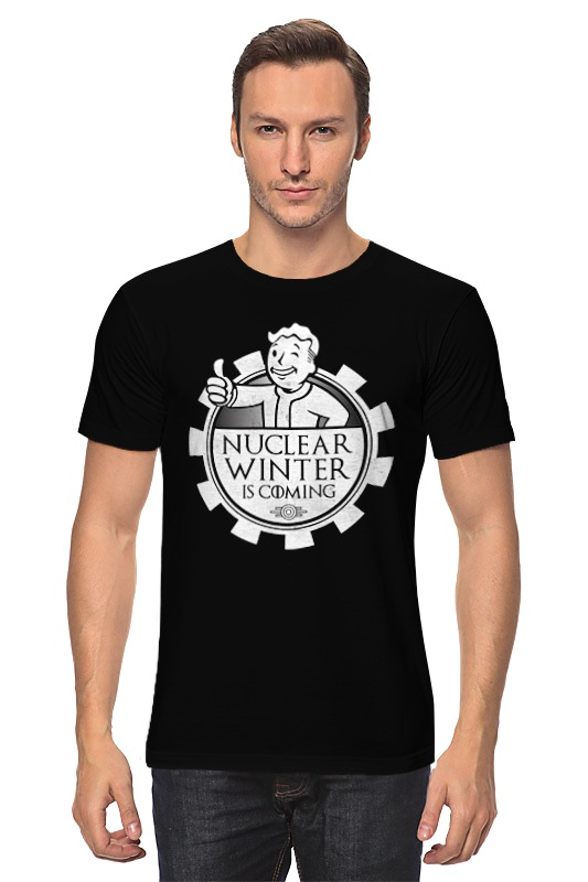 Футболка классическая Printio Fallout. nuclear winter is coming surface nuclear magnetic resonance