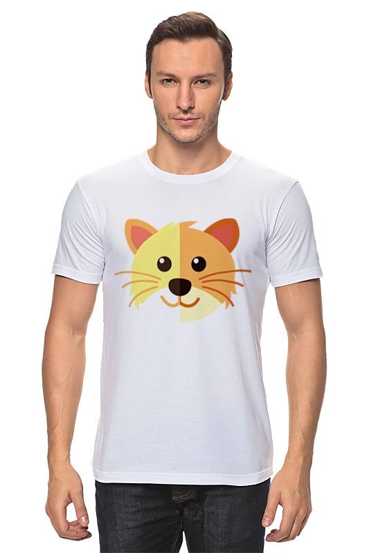 Футболка классическая Printio Котик футболка классическая printio котик мороженое