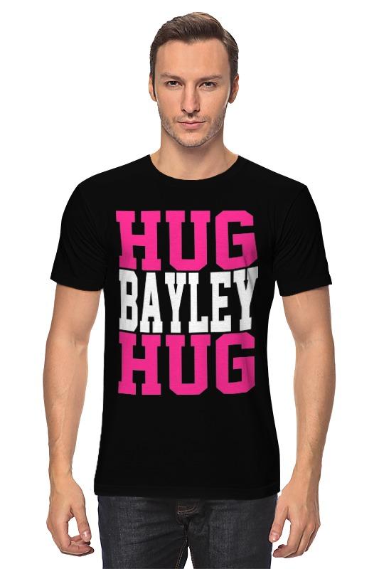 Футболка классическая Printio Hug bayley hug (wwe) little miss hug hc edition