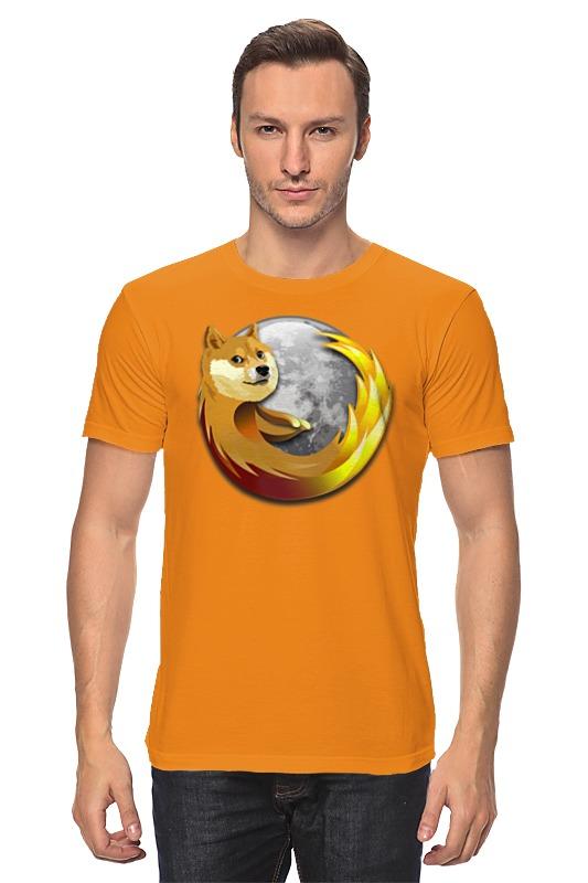 Футболка классическая Printio Doge firefox футболка классическая printio doge firefox