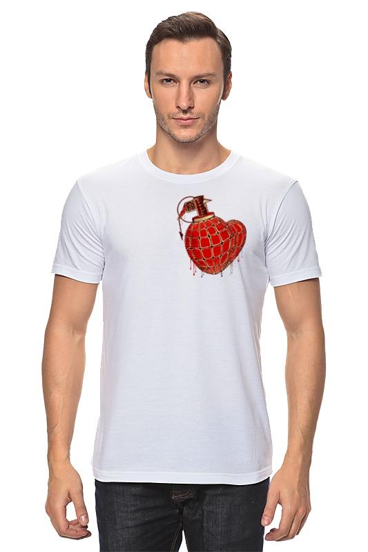 Футболка классическая Printio Любовь война футболка print bar любовь в голове