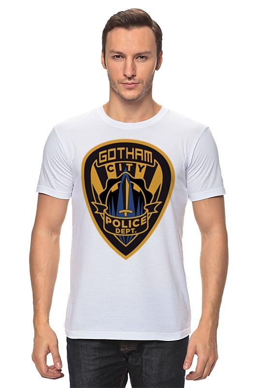 Футболка классическая Printio Полиция готэма (бэтмен) футболка полиция
