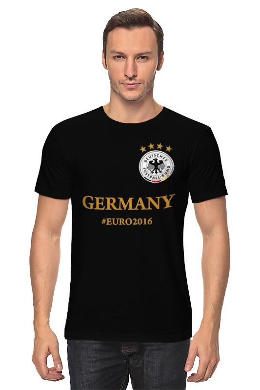 Футболка классическая Printio Сборная германии по футболу евро 2016 футболка классическая printio с пробегом по германии
