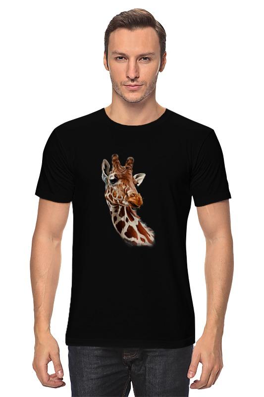 Футболка классическая Printio Жирафик функциональная погремушка звонкая гантелька жирафик
