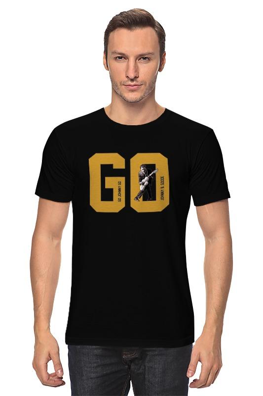 Футболка классическая Printio Go, go johnny go! борцовка с полной запечаткой printio go go johnny go