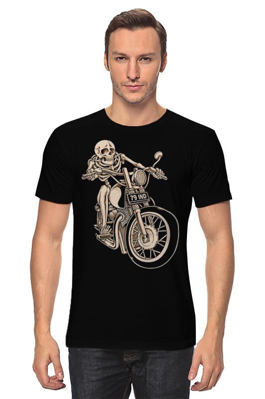 Футболка классическая Printio Skeleton biker футболка классическая printio holy skeleton