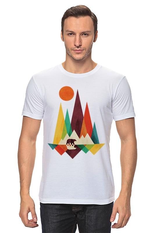 Футболка классическая Printio В лесу футболка классическая printio 62 2% в саратове