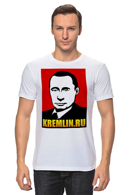 Футболка классическая Printio Путин билет в ленком официальный сайт
