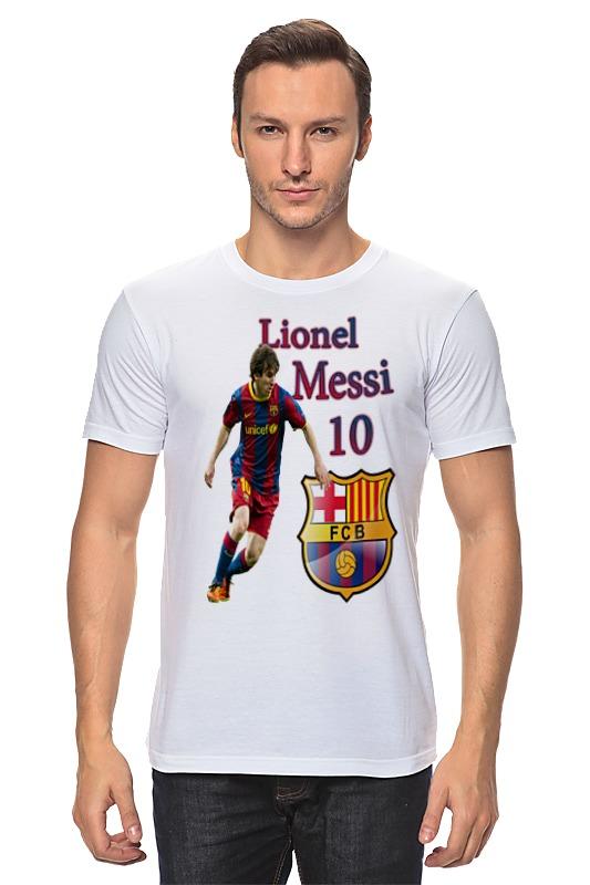 купить Футболка классическая Printio Cesare-fc batcelona 80 по цене 870 рублей