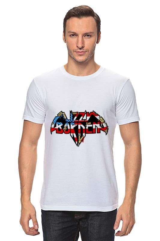 Футболка классическая Printio Lizzy borden футболка wearcraft premium slim fit printio lizzy borden