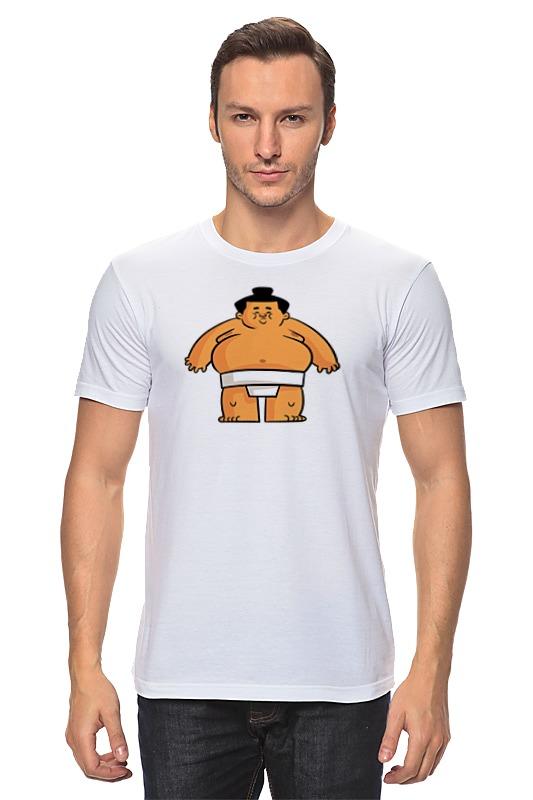 Футболка классическая Printio Борец сумо лонгслив printio борец сумо