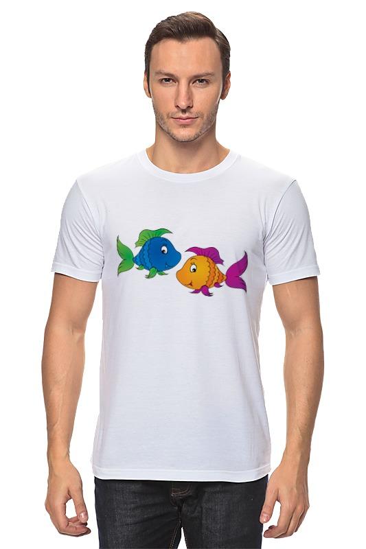 Футболка классическая Printio Весёлые рыбки футболка классическая printio рыбки