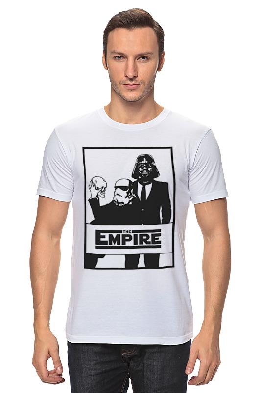 Футболка классическая Printio The empire. звёздные войны футболка классическая printio the empire звёздные войны