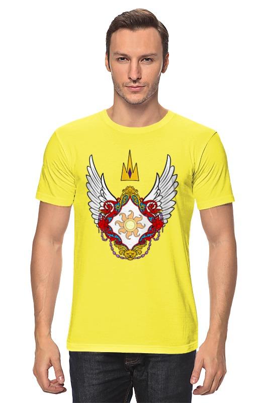 Футболка классическая Printio My little pony - герб celestia (селестия)