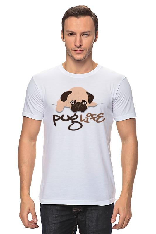 Футболка классическая Printio Мопс (pug)