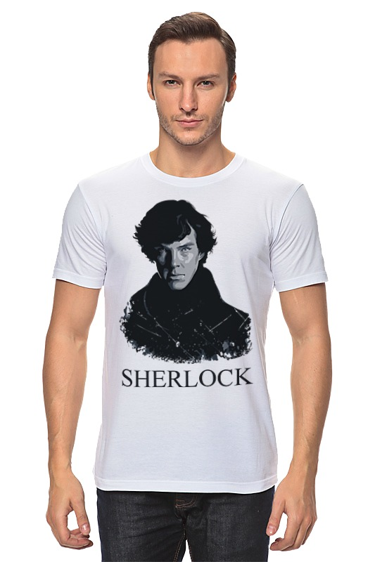 Футболка классическая Printio Шерлок холмс (sherlock) лейн э молодой шерлок холмс черный лед