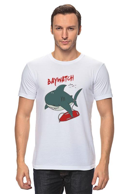 Printio Акула (baywatch) футболка wearcraft premium printio акула baywatch