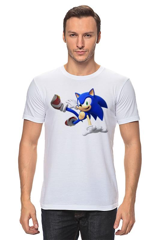 Футболка классическая Printio Sonic dance футболка для беременных printio sonic dance